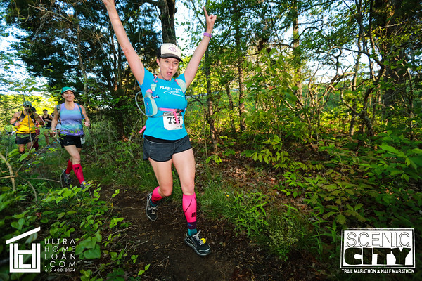 2016 Scenic City Trail Half and Marathon