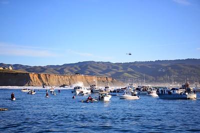 Mavericks Invitational 2013 in Half Moon Bay, California