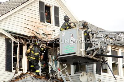 Seaview Ave. Fire (Bridgeport, CT) 10/29/13