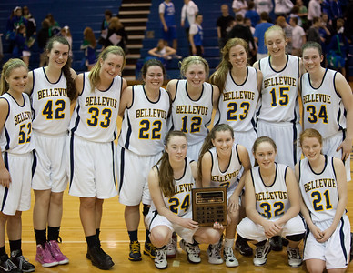 Feb 9 2012 - KingCo Championship: Liberty 36 Bellevue 54