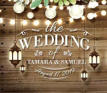 Tamara & Samuel's Wedding!