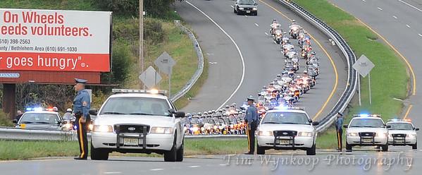 Officer Joseph S. Wargo, Jr. Funeral