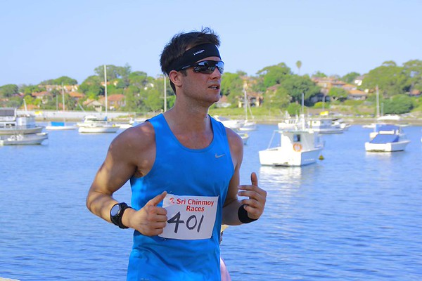 Sri Chinmoy Iron Cove 14km, 7km & 4km, 28 February 2016