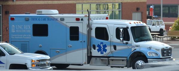 UNC Rex Healthcare Critical Care Transport