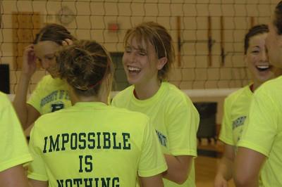 Girls Varsity Volleyball  - 2005-2006 - 3/4/2006 Districts JG