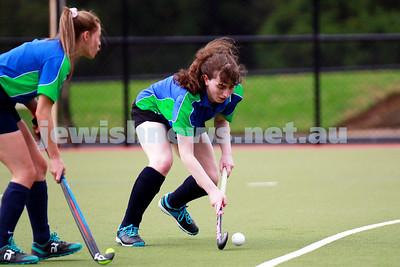 Maccabi Women's hockey v Wesley Collegians