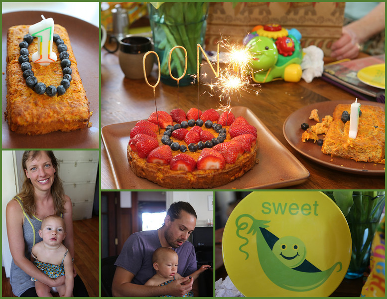 Oona is one year old on May 12th, 2014.  And yes, she is very sweet.