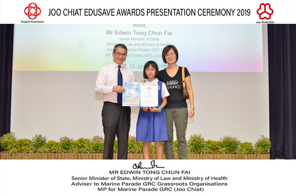 Joo Chiat Edusave Award 12 Jan PM