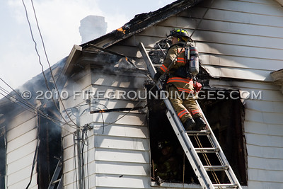 Hinman St. Fire (West Haven, CT) 5/8/10