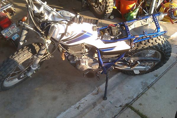 Yamaha TW200 Project