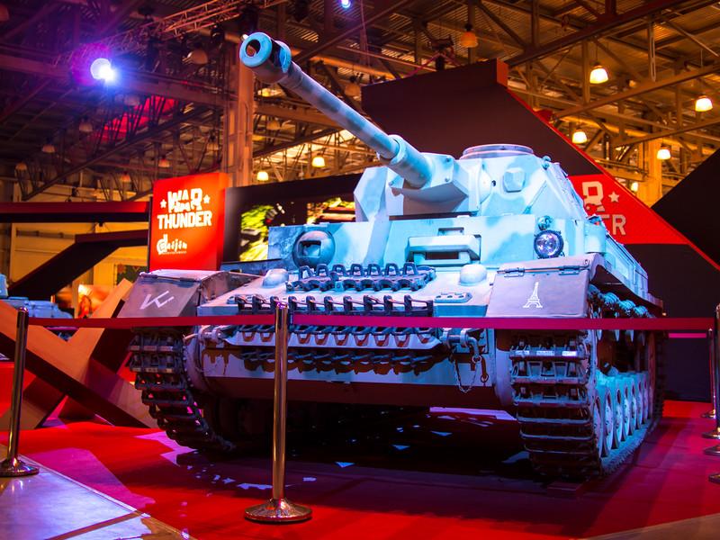 Tank at Igromir 2013