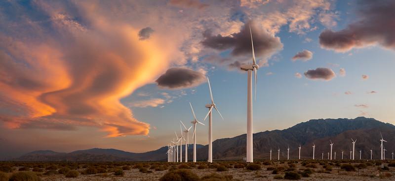 Wind Turbines - Palm Springs, CA