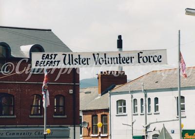 East Belfast UVF Band Parade