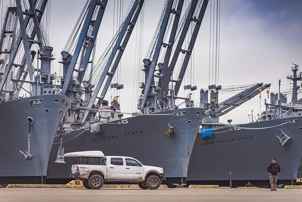 Alameda Naval Air Base Photoshoot 07.17.16