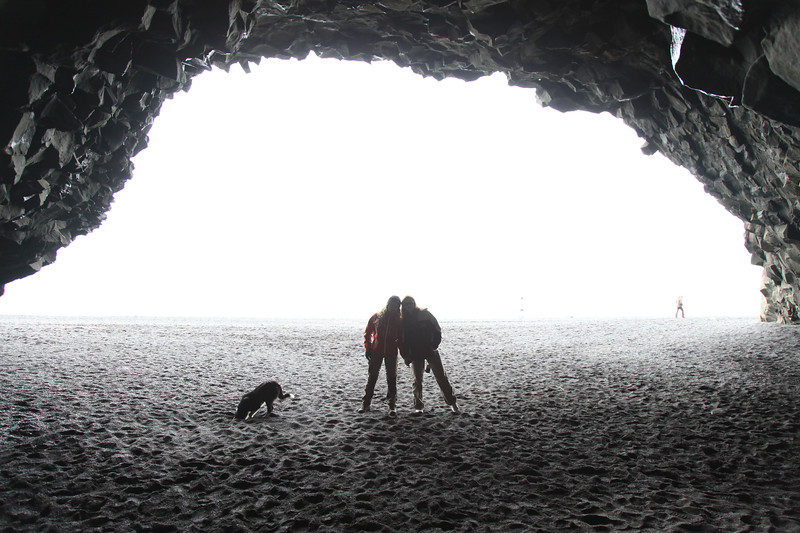 Jaskinka przy plaży