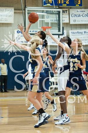 2009-01-06 Basketball Varsity Girls Westbury Christian v Second Baptist