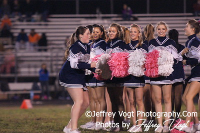 10-26-2012 Magruder HS Cheerleading & Poms, Photos by Jeffrey Vogt Photography