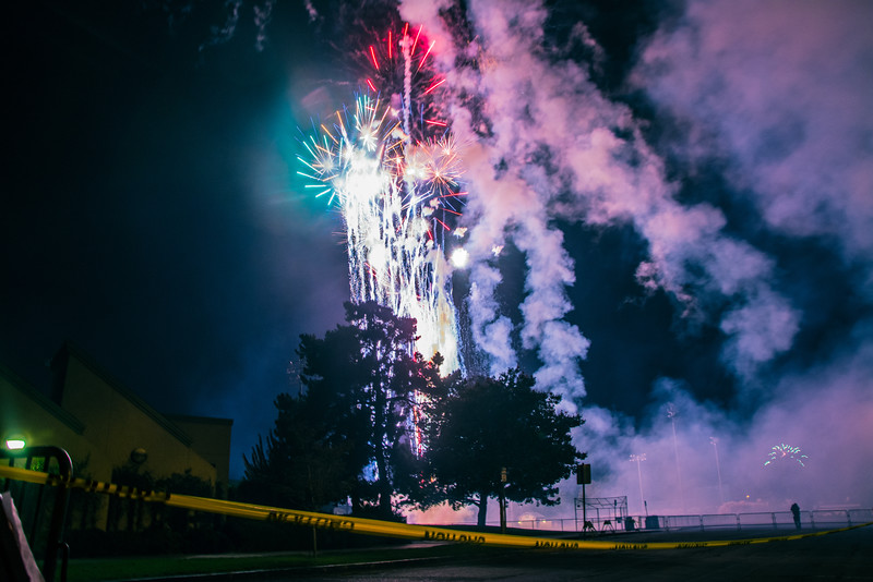 Fireworks July 4 2014