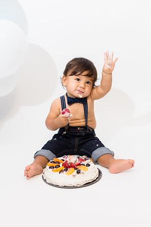 Santiago 1 year old