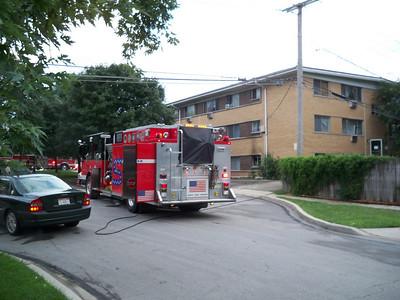 Wheaton General Alarm Fire 8-4-2010