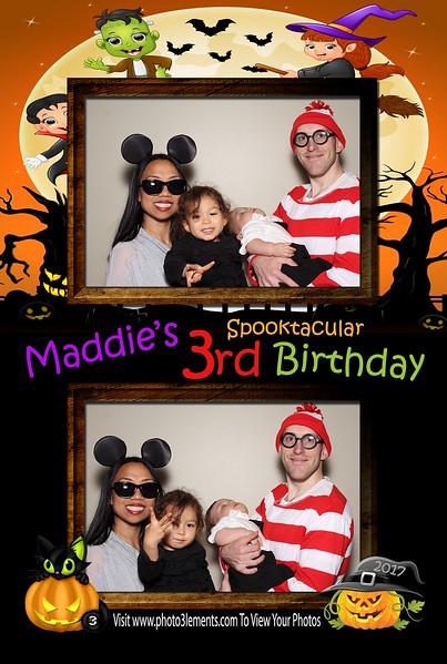 Maddie's Spooktacular 3rd Birthday 2017