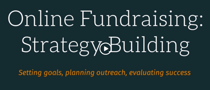 Online Fundraising Strategy