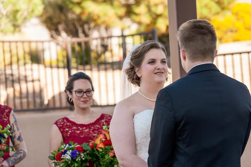 Sandia Hotel Casino New Mexico October Wedding Ceremony C&C-91.jpg