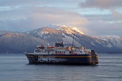 DAY 323 - November 19, 2011 - LeConte Ferry With Ice Coating Cynthia Meyer, Tenakee Springs, Alaska