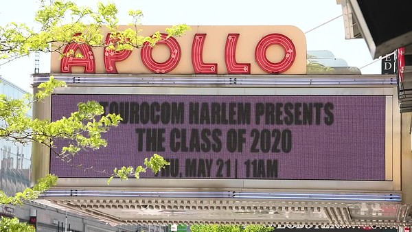 2020 Apollo Theater Marquee - Videos