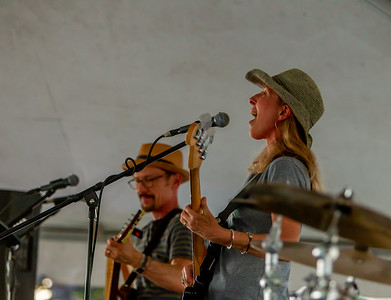 Set three: the Van Redeker Band at the Beer Garden Festival Friday 2018