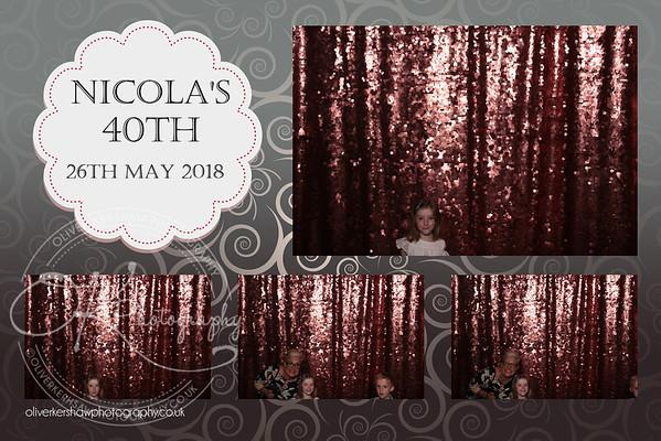 Nicola's 40th Birthday Party