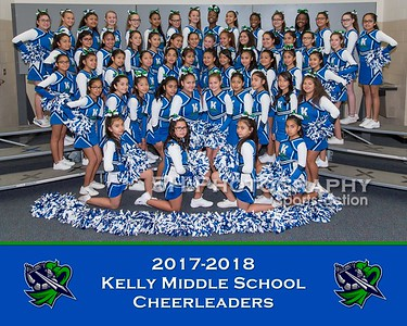 Kelly Middle School Cheer