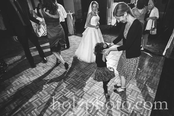 Sarah & Shane - B/W Wedding Photos