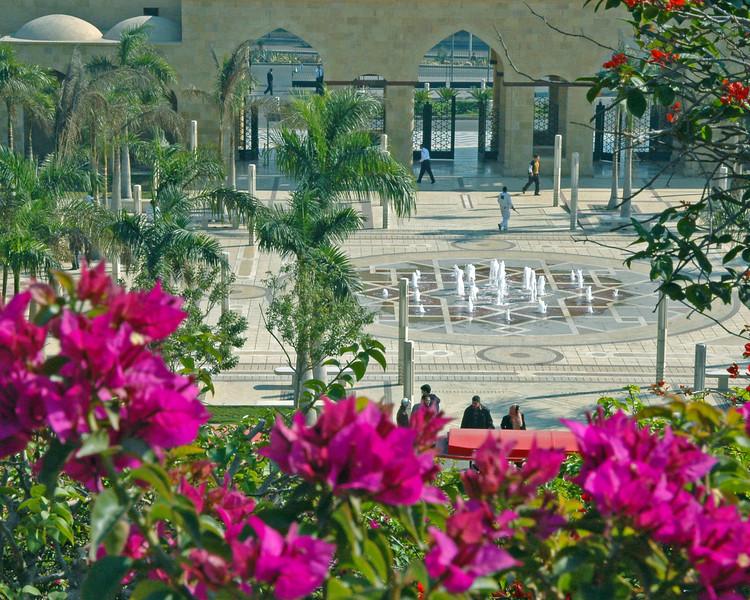 entrance (al-azhar park)