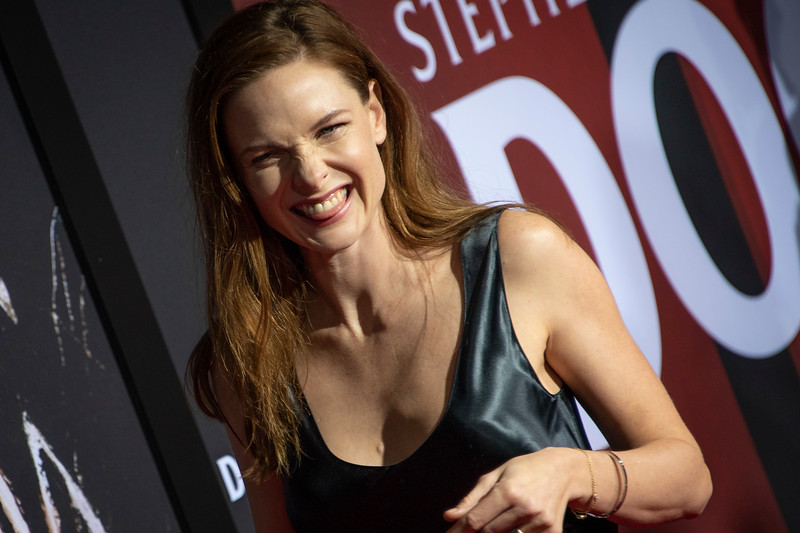 """LOS ANGELES, CALIFORNIA - OCTOBER 29: Rebecca Ferguson attends the premiere of Warner Bros Pictures' """"Doctor Sleep"""" at Westwood Regency Theater on Tuesday October 29, 2019 in Los Angeles, California. (Photo by Tom Sorensen/Moovieboy Pictures,)"""
