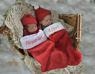 Alexander & Asher