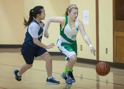 Basketball (Varsity Gold) vs. SF Christian  Jan. 22, 2014