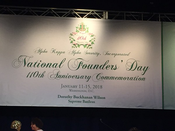 2018-01 110th Founders' Day Celebration