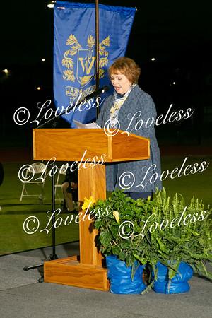 8:00 Graduation (receiving diplomas)
