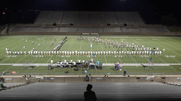 Stadium Rehearsal 10/10/2016