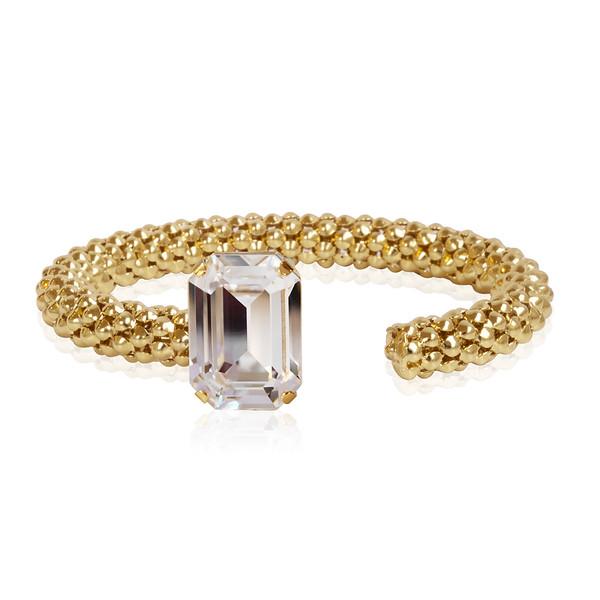 Lydia Rope Bracelet / Crystal Gold