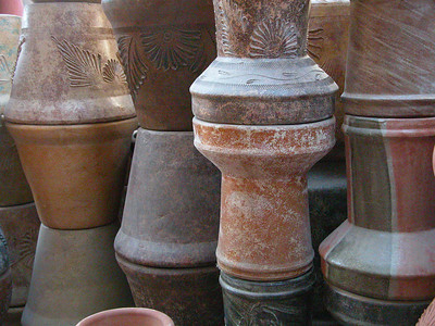 Pottery and Glass