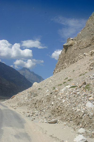 The road to Chilas.