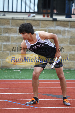 D1 Boys 4x400 Relay - 2013 MHSAA LP Track and Field