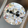 2.25ct Antique Cushion, GIA K SI2 8