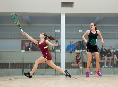 1/13/16: Girls' Varsity Squash v Greenwich Academy