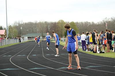 Boys 800 Meter Relay - Brethren Invite