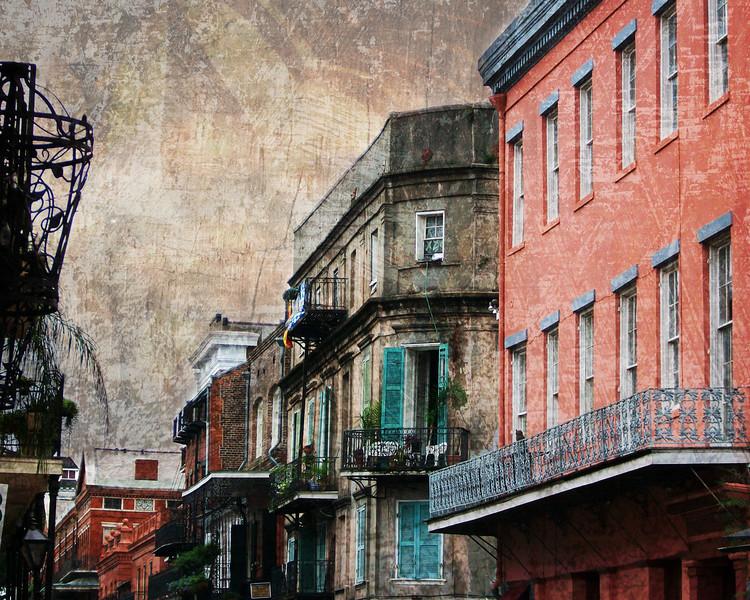New Orleans City Street