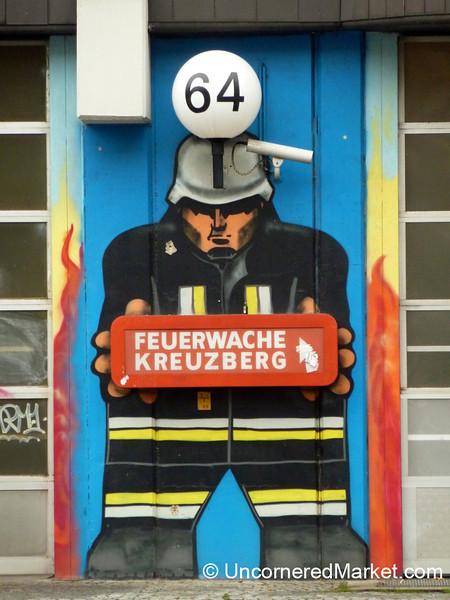Street Art Meets Fire Station - Berlin, Germany