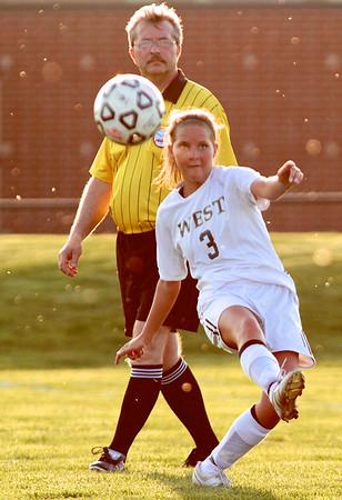 Zeeland West Girls Varsity Soccer vs Byron Center